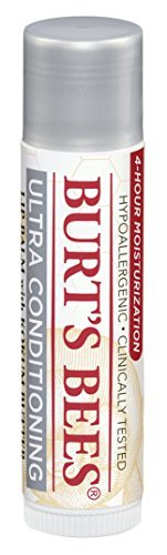 - Burt's Bees Lip Balm Ultra Conditioning with Kokum Butter (Value Pack of 3)