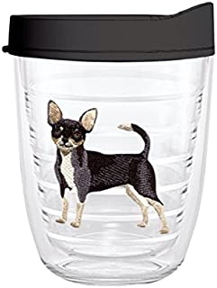 product image for Smile Drinkware USA-CHIHUAHUA 12oz Tritan Insulated Tumbler With Lid and Straw