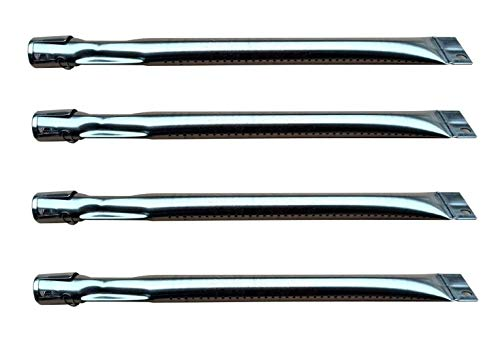 (Hongso SBI521(4-pack) Stainless Steel Burner Replacement for Select Brinkmann and Charmglow Gas Grill Models (15 5/16)