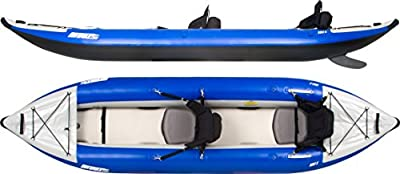 Sea Eagle 380x Inflatable Explorer Kayak QuikSail Package