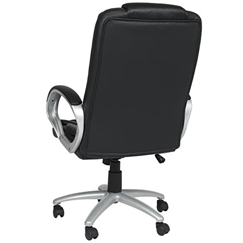 pu leather high back executive office chair black pc gaming chairs