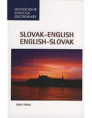 Slovak-English/English-Slovak Concise Dictionary