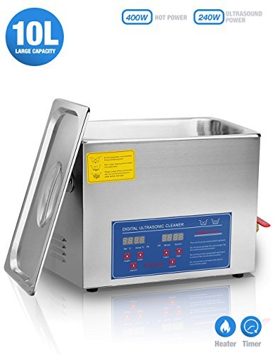 Jakan Industrial Ultrasonic Cleaner 10L for Jewelry,Eyeglasses, for sale  Delivered anywhere in Canada