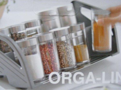 Gewürzeinsatz Für Schublade orga line blum hochwertige küchenhelfer amazon de küche haushalt