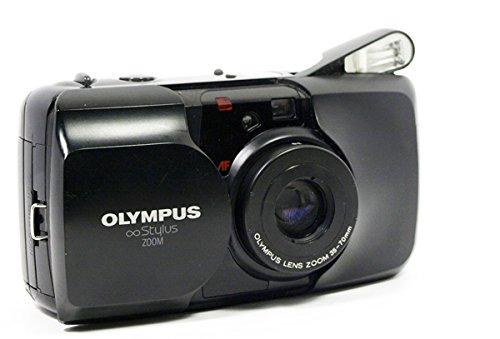 - Olympus Stylus Zoom Black Colored 35mm Film Camera W/olympus Lens Zoom 35-70mm 35mm Film Camera (Black Color Version)