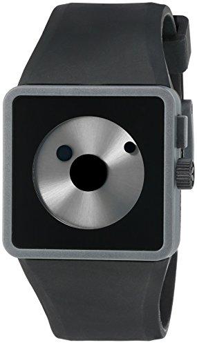 Nixon Men's 'Newton' Quartz Plastic and Silicone Watch, Color Black (Model: A116007-00)