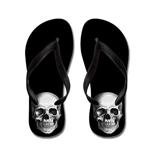CafePress Skull - Flip Flops, Funny Thong Sandals, Beach Sandals