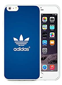 iPhone 6 Plus 5.5 inch White Adidas Logo White Screen TPU Phone Case Newest and Popular Cover