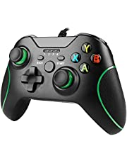 Xbox One Wired Controller, YAEYE Wired Xbox One Game Controller USB Gamepad Joypad Controller with Dual-Vibration for Xbox One PC Windows 7/8/10