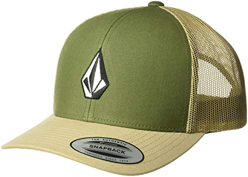 Volcom Men's Full Stone Cheese Hat, Dark Olive One Size Fits All ()