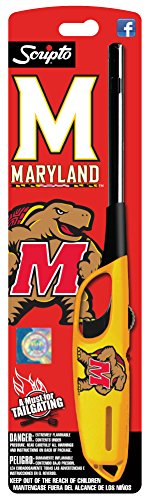NCAA Maryland Terrapins Utility Lighter, Yellow, One Size