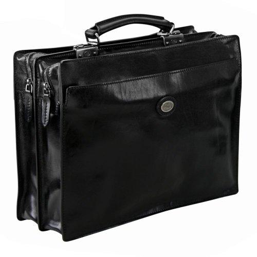 The Bridge Story Uomo Briefcase black schwarz