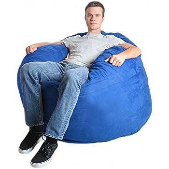Amazon Com Slacker Sack 4 Feet Foam Microsuede Beanbag