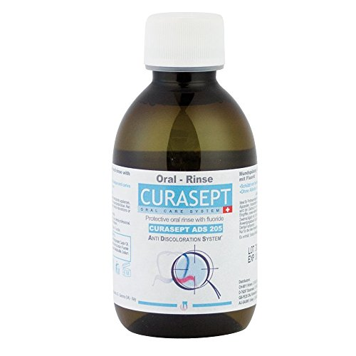 Curaprox Curasept ADS 205 Mundspülung 0.05% CHX + 0.05% F, 1er Pack (1 x 200 ml)