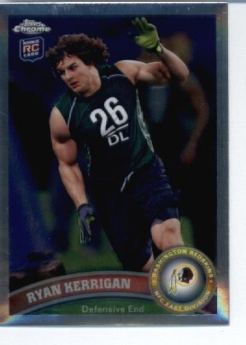 2011 Topps Chrome Football Card #TC9 Ryan Kerrigan RC - Washington Redskins (RC - Rookie Card) NFL Trading Card