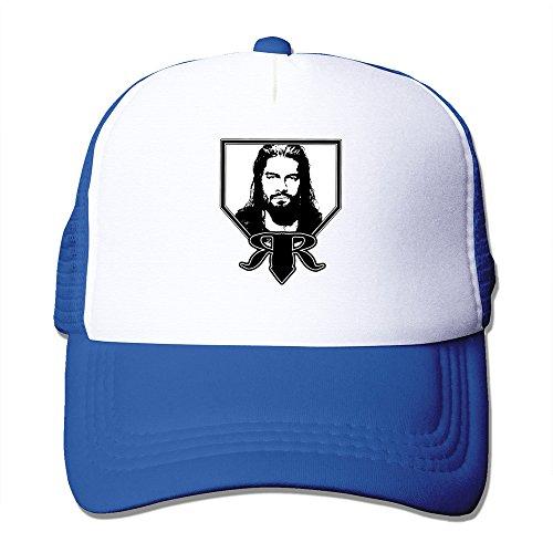 AGOGO Custome Roman Reigns Snapback Hats RoyalBlue