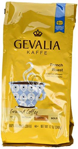 Gevalia, Kaffe, Ground Coffee, French Roast, 12oz Bag