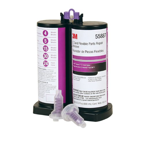 3M 55887 EZ Sand Flexible Parts Repair Adhesive - 600 ml by 3M