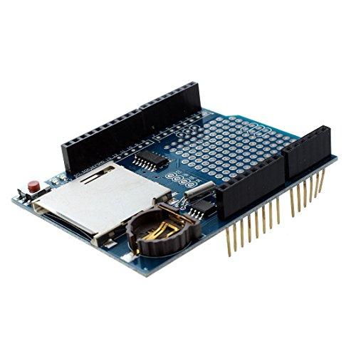 SODIAL(R) Hot Data Recorder Shield Sale Logger Module Logging for Arduino UNO SD Card