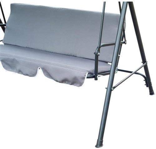 150 x 50 x 10 cm wasserabweisender 3-Sitzer Schaukelsitz Bank Kissenbezug für Outdoor Garten Hängematte (Kissen nicht enthalten)
