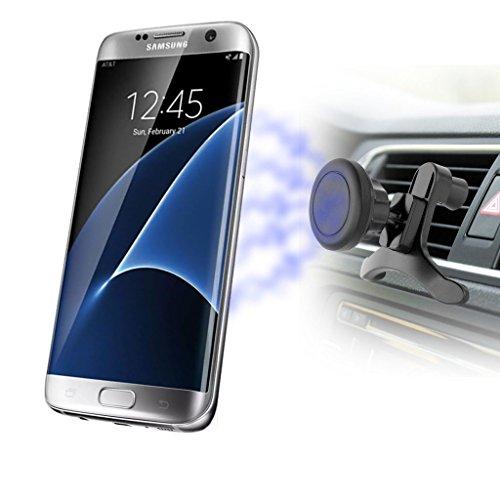 I-Sonite (Magnetic ) Universal Air Vent Car Mobile Phone Holder Cradle Mount For...