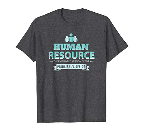 Mens Human Resource Employee's Version Principal's Office T-Shirt 3XL Dark Heather