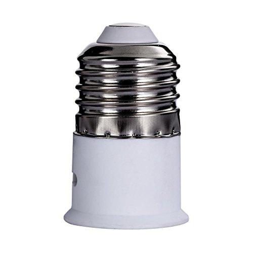 5x Lamp Light Bulb Socket Converter Bayonet Cap to Edison Screw E27 to B22 ()