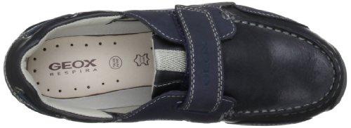 Geox Textil J SNAKE MOC E J3216E04332C0700 - Mocasines para niño Azul