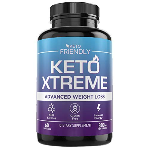 Keto Diet Pills - Made with Beta-Hydroxybutyrate BHB Salts to Support Ketogenic Diet & Help Induce Ketosis - Helps Increase Energy and Boosts Metabolism - 60 Capsules