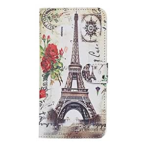 ZXC Beautiful Iron Tower Leather Flip Cover for iPhone 6(Assorted Colors) , 4
