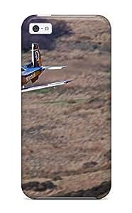 Hot New Fashion Premium Tpu Case Cover For Iphone 5c - Beechcraft T-6 Texan Ii