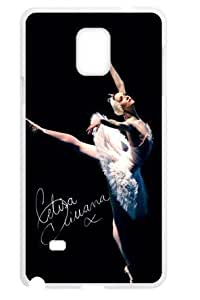 Hoomin Charming Dancing Ballet Beauty Samsung Galaxy Note4 Cell Phone Cases Cover Popular Gifts(Laster Technology) Kimberly Kurzendoerfer