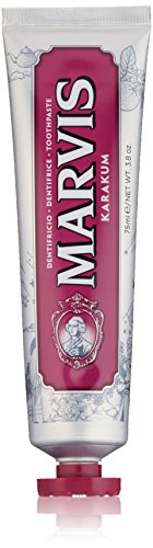 Price comparison product image Marvis Limited Edition Toothpaste, Karakum, 3.8 Ounce