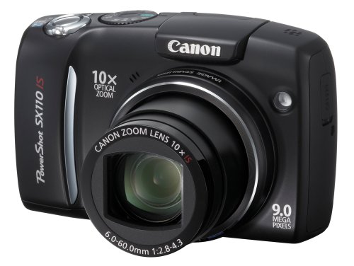 (Canon Powershot SX110IS 9MP Digital Camera with 10x Optical Image Stabilized Zoom)