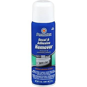Permatex 80025 Decal and Adhesive Remover, 5 oz.