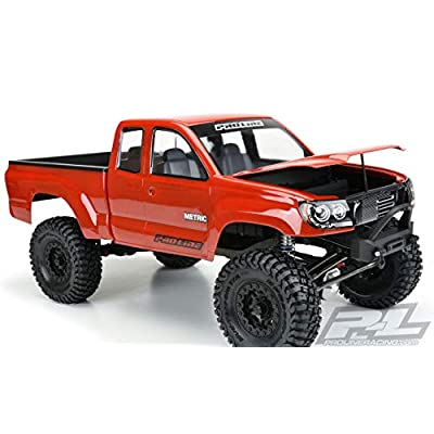 Pro-line Racing 1/10 Racing Builders Series Metric Clear Body with 12.3 Wheelbase: 1/10 Rock Crawlers, PRO352000: Toys & Games