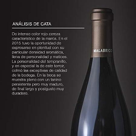 Cepa 21 - Malabrigo, Vino Tinto, Tempranillo, Ribera del Duero, Pack de 3 botellas de 750 ml, Caja de Madera