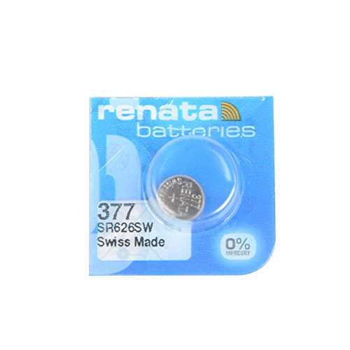 Renata 377 SR626SW Button Cell watch battery 1.55V swiss made