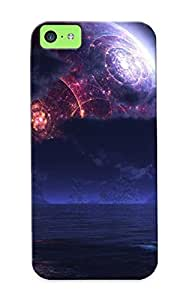 9a3265d2655 Tough Iphone 5c Case Cover/ Case For Iphone 5c(strange Planet ) / New Year's Day's Gift
