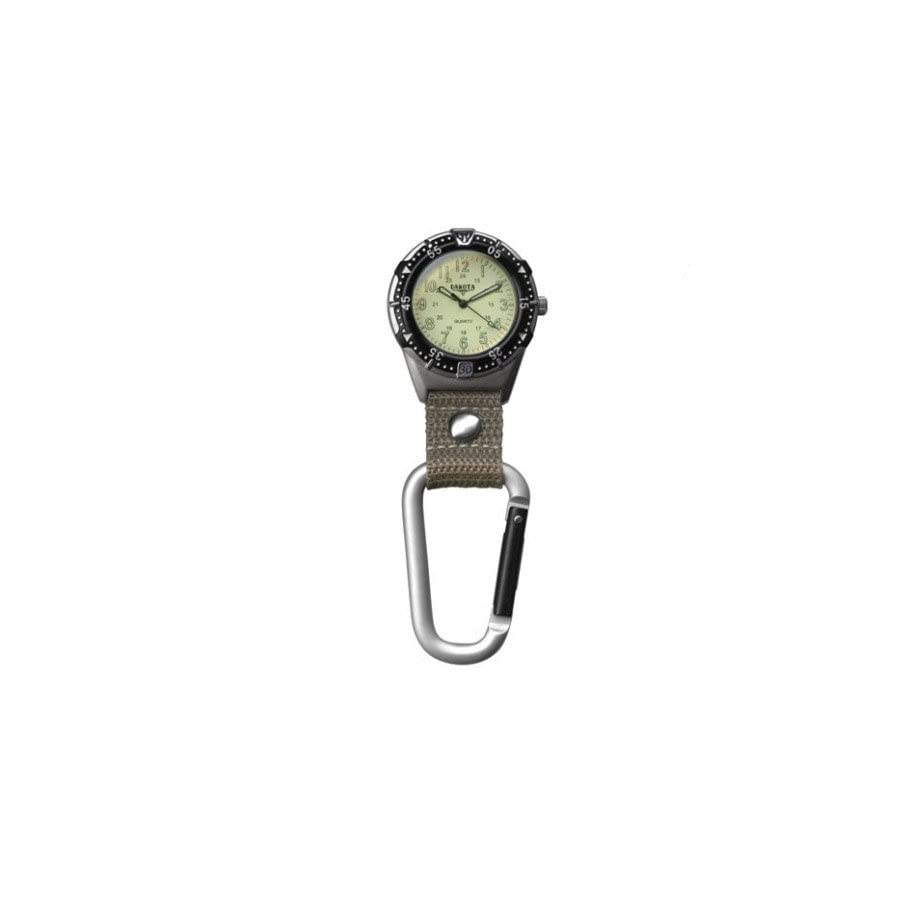 Dakota Watch Company Aluminum Backpacker Clip Watch