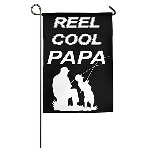 TT&Flag Reel Cool Papa Fishing Printed Outdoor/Home Decorative Flag For Gift