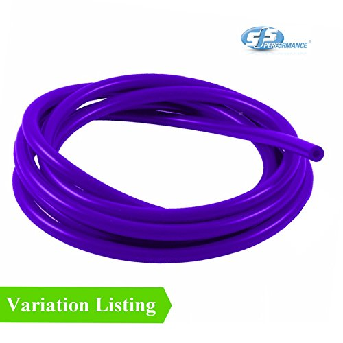 - 1 Metre Purple Silicone Vacuum Hose / Turbo Rubber Tube Air Water Pipe [ 5mm ]