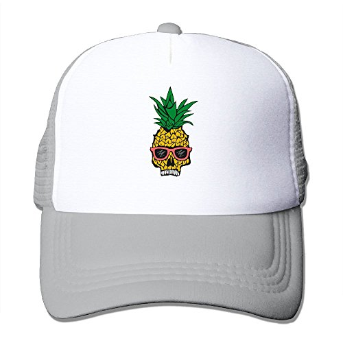 Newest Unisex Pineapple Skull With Sunglasses Mesh Caps One Size Fits Most Adjustable Baseball - Sunglasses Cabela's