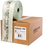 EcoSafe-6400 HR1617-6 Compostable Bag, Certified Compostable, 2.5-Gallon, Green (Pack of 1300)