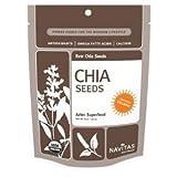 Navitas Naturals Organic Raw Chia Seed, 8 Ounce - 12 per case.