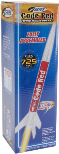 Estes Rocket-Code Red Model Kit 1 pcs sku# 1191747MA ()