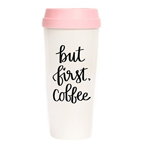 First Christmas Mug (But First Coffee Travel Mug, Pink, Gift for Boss, Gift for Her, Coffee First, Coffee Mugs, Travel Tumbler, Mugs, Back To School, Coffee Mug)