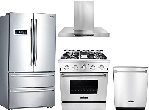Thor Kitchen 4-Piece HRF3601F 36