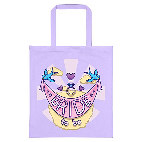 Bride Be Lilac RealSlickTees RealSlickTees Bride Bag Lilac Tote Be To Tote RealSlickTees Bride Bag To 1FxB4pA