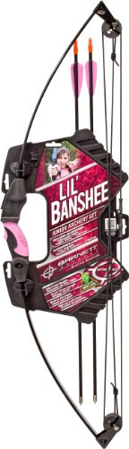 Barnett Outdoors Lil Banshee Jr. Pink Compound Archery (Kids Bows)